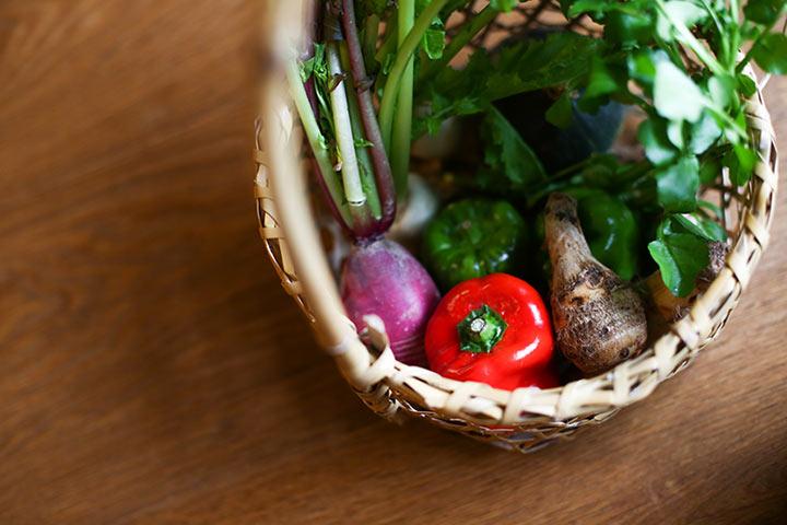 新潟県産の野菜