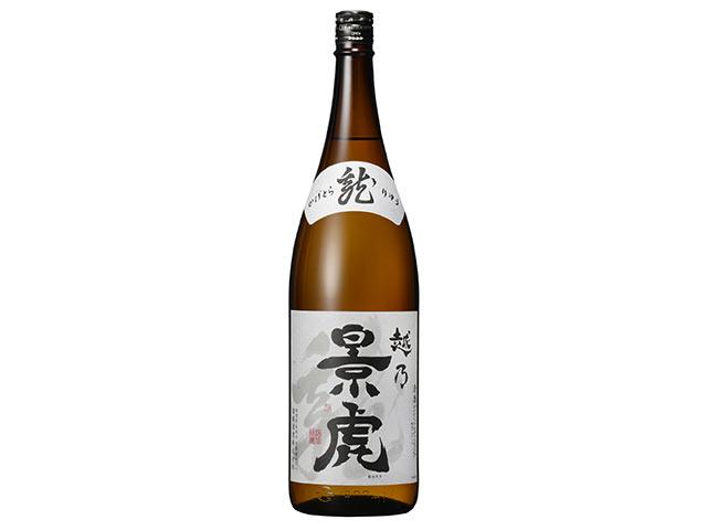 〈越乃景虎 龍〉の一升瓶