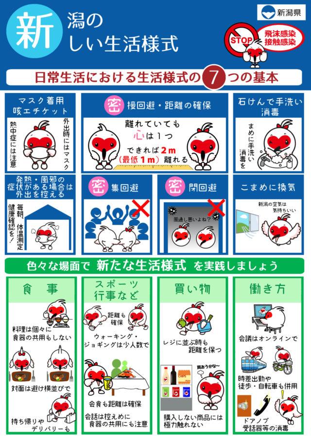 新潟県新しい生活様式