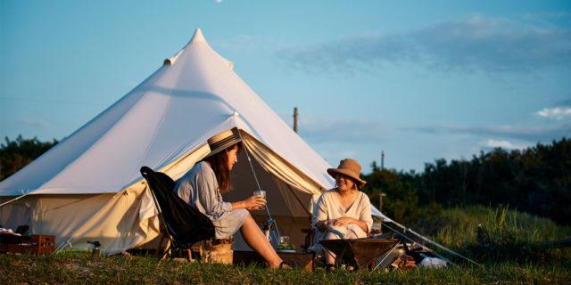 四季折々の豊かな表情と地域の食材も堪能できる。新潟キャンプの楽しみ方