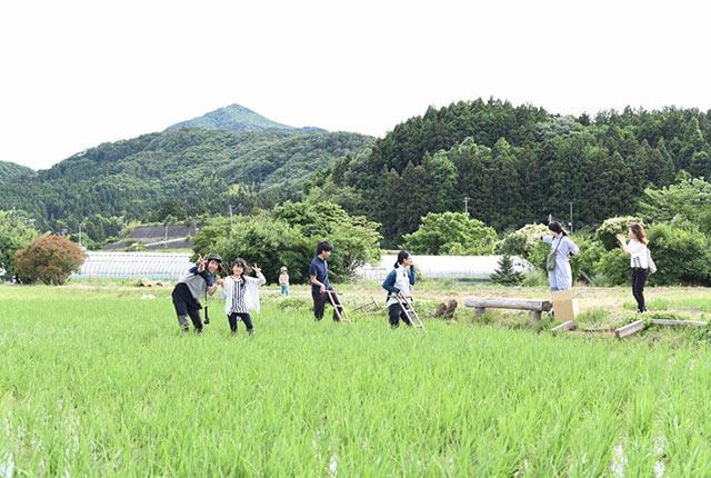 週末農業グループ〈まきどき村〉