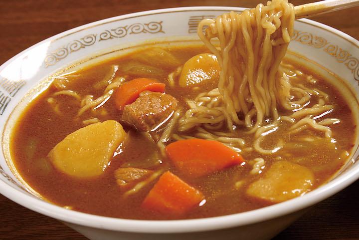 三条カレーラーメン(大衆食堂 正広)