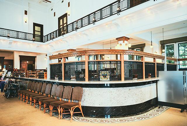 移築後のレストラン