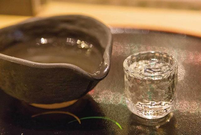 たかね錦でつくられた日本酒