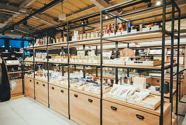 商品の陳列棚