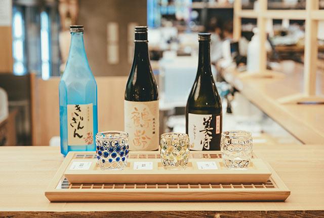 日本酒の試し飲みセット