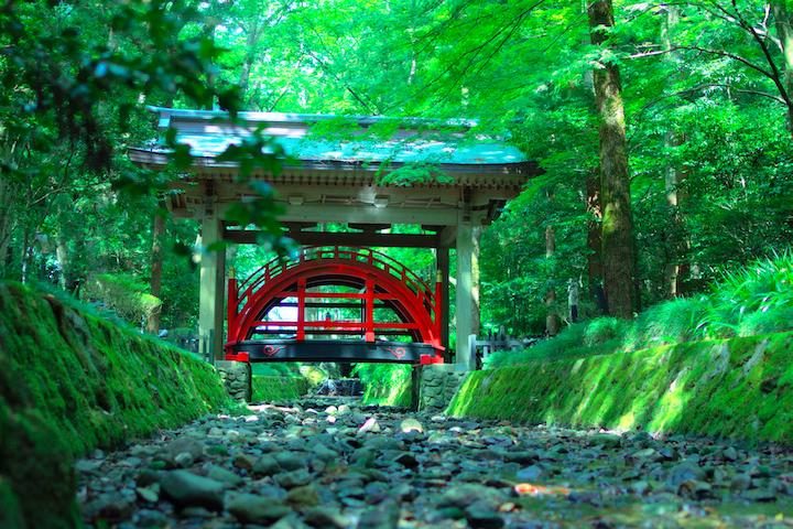 神の渡る橋