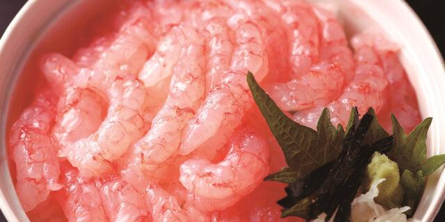 新潟市〈鮨・割烹 いじま〉の佐渡南蛮エビ丼は、濃厚&プリプリ!