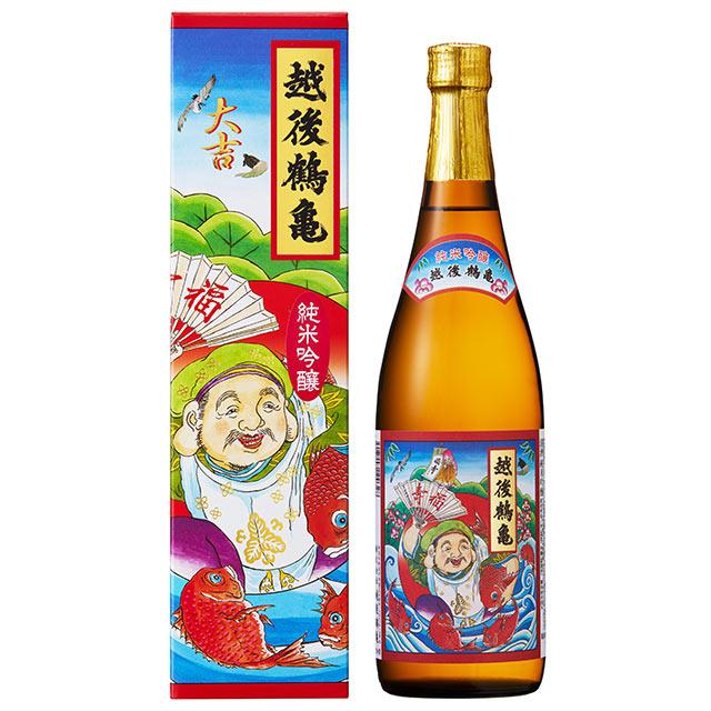 越後鶴亀 招福神 純米吟醸