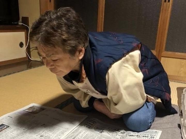 かづきちさんの祖母