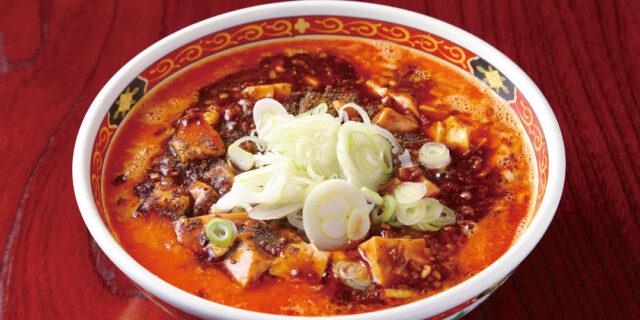 新潟市〈かなみ屋〉の「四川麻婆担々麺」は、担々麺と麻婆麺が一杯に凝縮