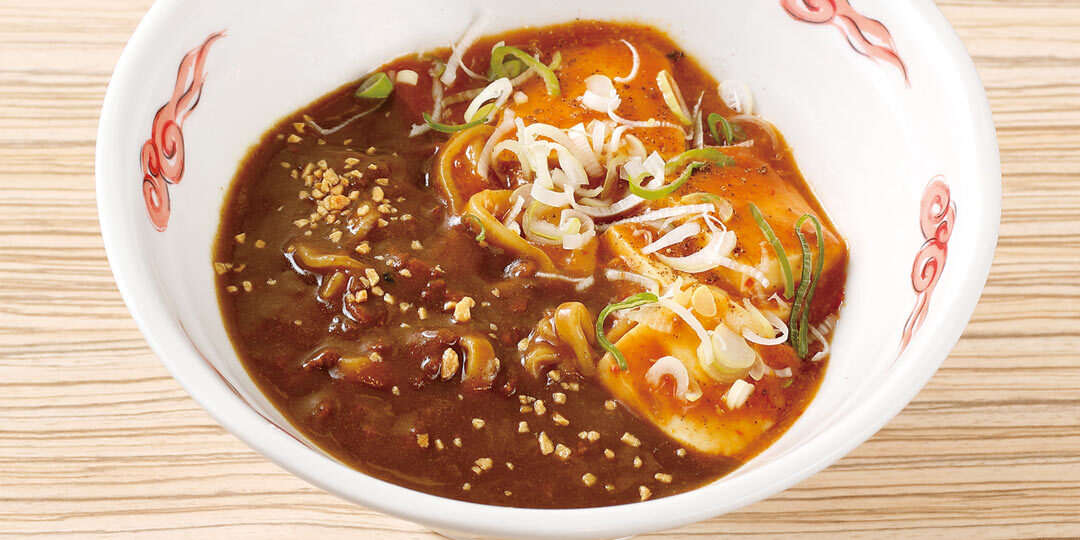 新潟市〈麺屋ほんず〉で味わう欲張りな一杯「カレー麻婆麺」