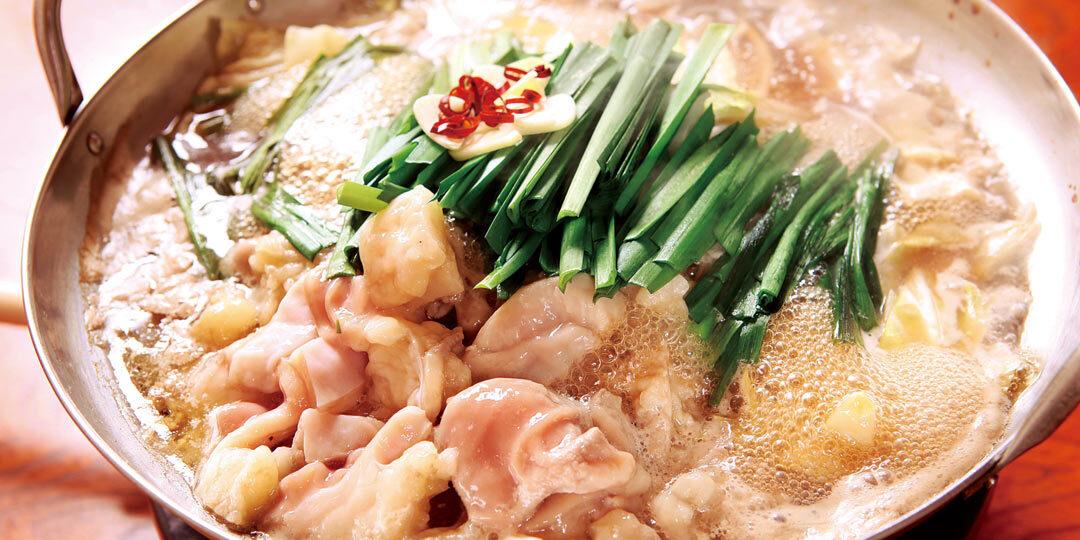 長岡市〈もつ鍋 たつみ〉で、新鮮なシマチョウのぷりぷり食感を堪能