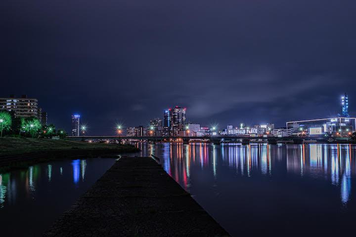 信濃川やすらぎ堤