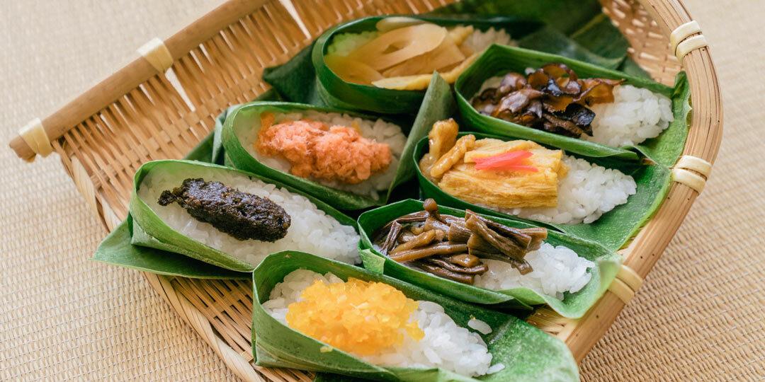 〈ごはん同盟〉がつなぐ、ふるさとのレシピ 雪国・妙高の季節の変わり目を感じさせる「笹箕寿司(ささみずし)」
