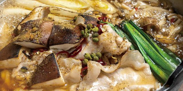 新潟市〈ありったけ〉の「豚しびれ鍋」はまさにシビれる旨さ
