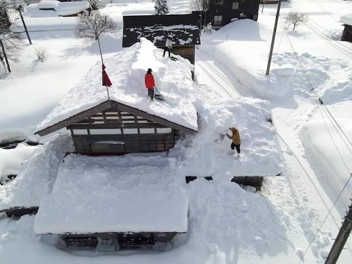 豪雪が当たり前の暮らし