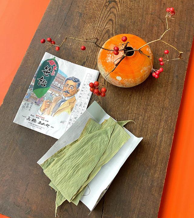 パッケージには夏目漱石のイラスト