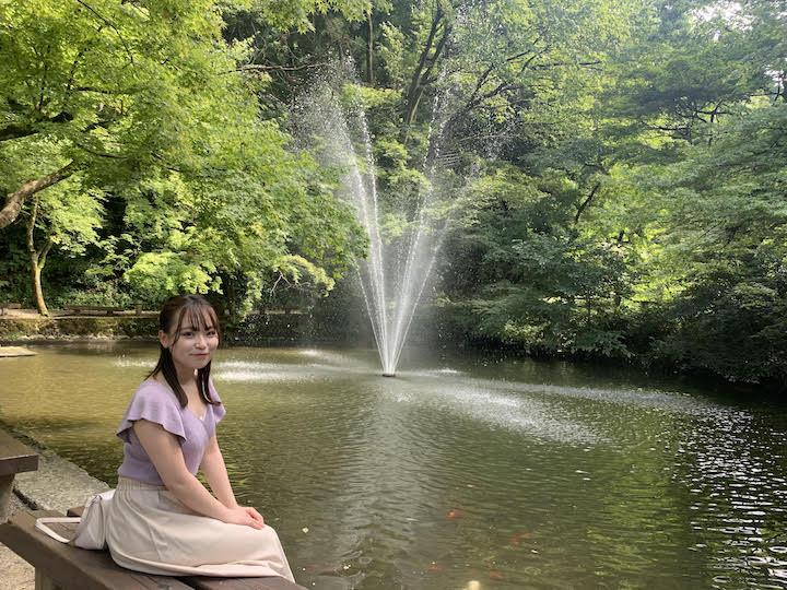 加茂山公園で小旅行
