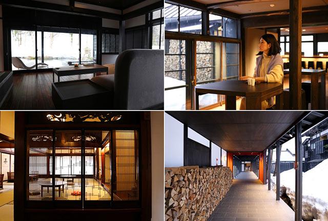 ryugonの客室や廊下、ロビーなど