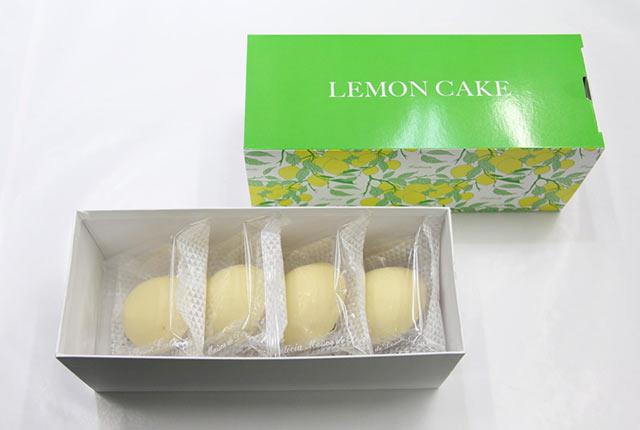 〈レモンケーキ〉4個入りパッケージ