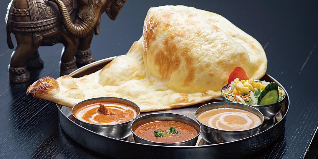 柏崎市〈ガネーシャ〉のインドカレーは「五感で味わう」!