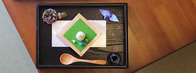 〈和食カフェ えん〉の和パフェ