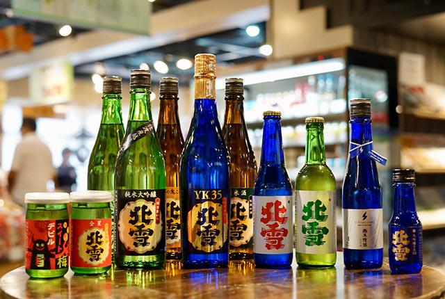 〈北雪酒造〉の日本酒各種