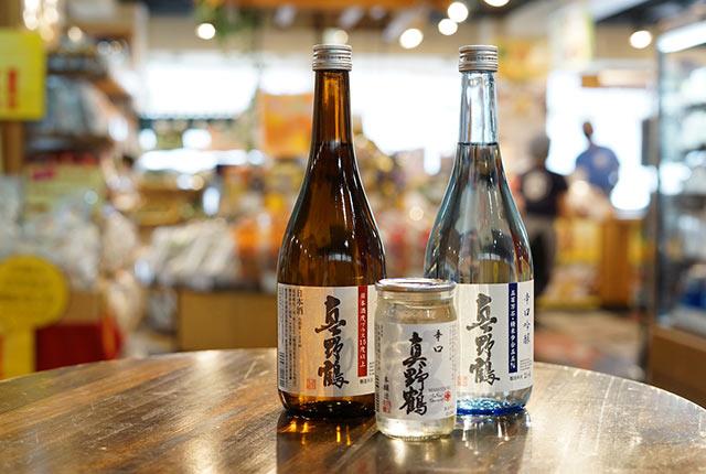 〈尾畑酒造〉の日本酒〈真野鶴〉