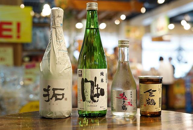 〈加藤酒造店〉の各種日本酒