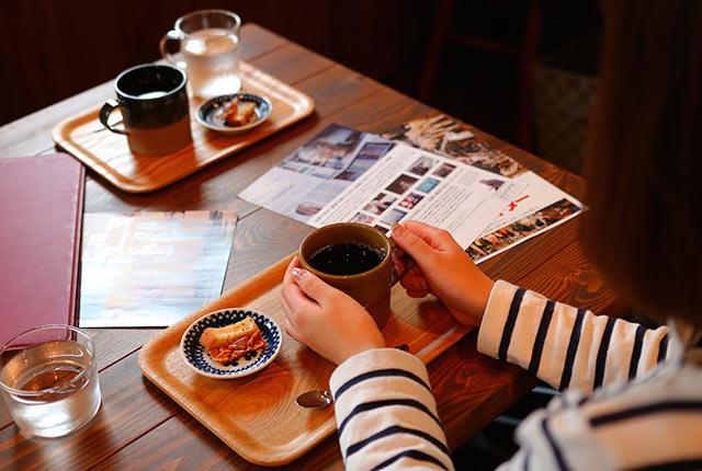 コーヒーと映画のパンフレット
