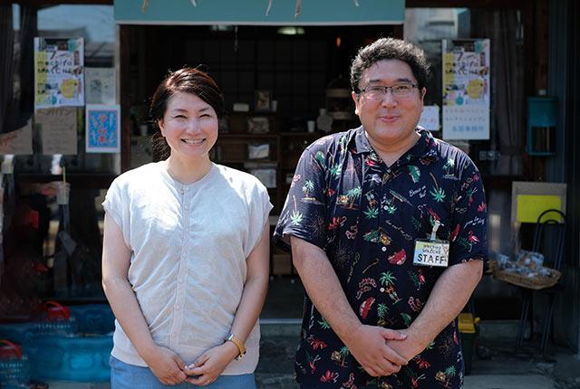 主催者の宮川大樹さん・礼子さん夫妻