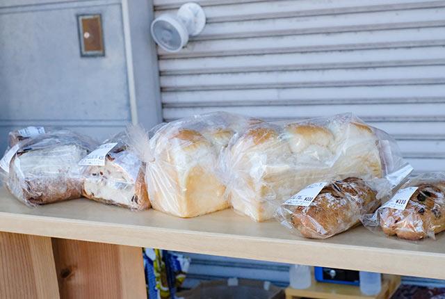 〈PATRASHE〉さんのパン各種