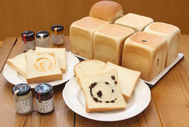 「生食パン」とオリジナルジャム