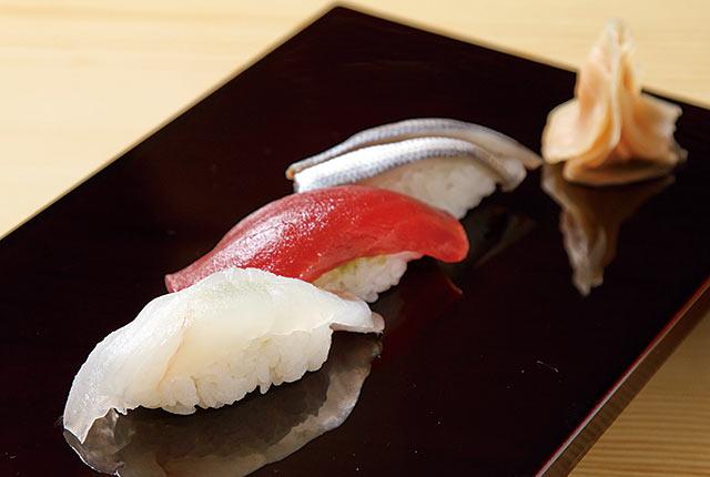 〈はつね寿司 本店〉の握り