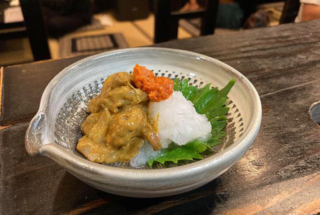 雁木亭の料理
